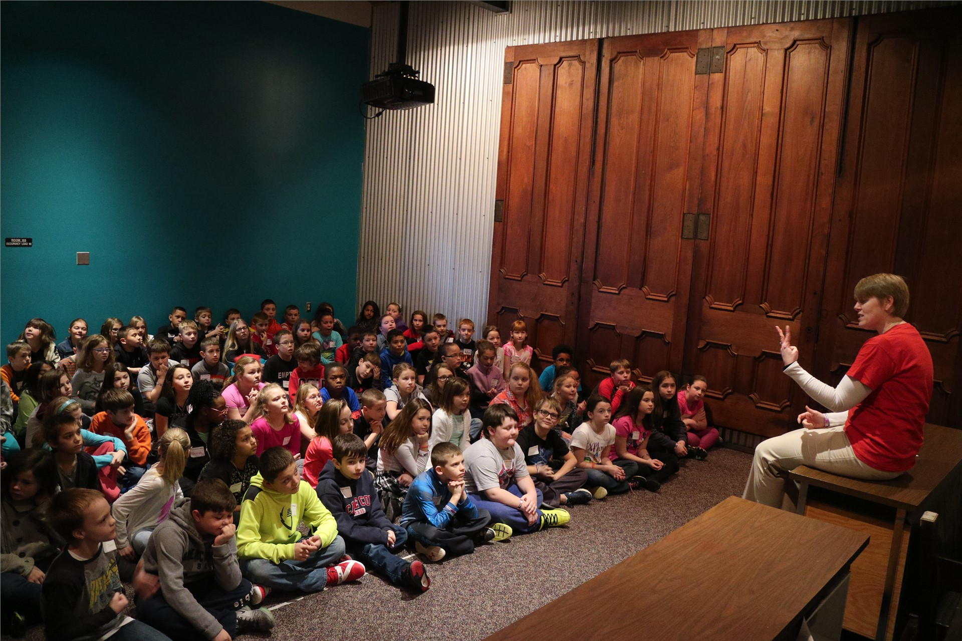 Over the course of three days all 500+ fourth graders have the chance to explore this museum